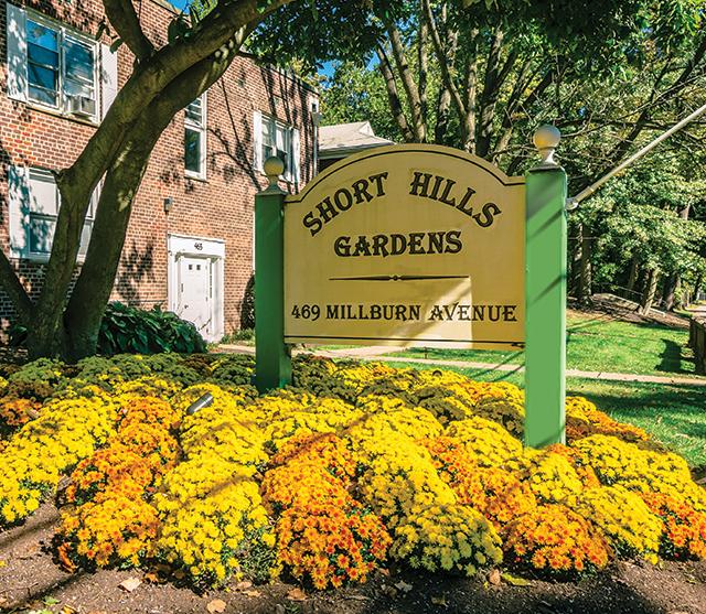 Short Hills Gardens Apartment for Rent in Millburn, NJ