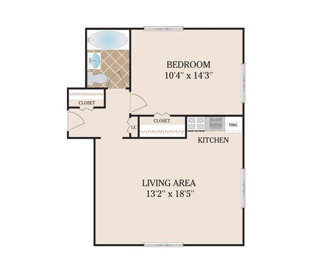 FLOOR PLANS - Short Hills Gardens Apartments for rent in ...