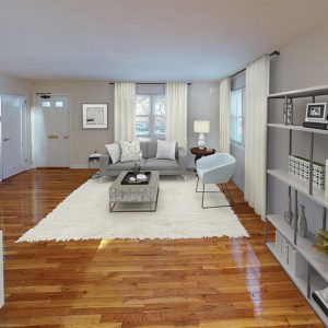 Beautiful hardwood floors